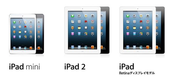 iPad miniの特徴